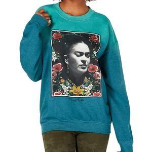 True Vintage Frida Kahlo Pullover Sweatshirt